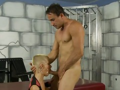 Lucky guy is enjoying the hottest