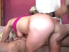 Cock hungry blonde who...