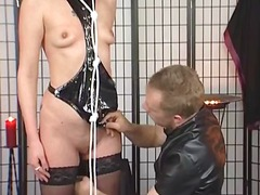 mature, bdsm, brunette, bondage,