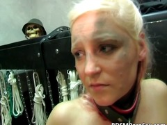 DrTuber - Naughty blonde babes g...