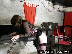 Alpha Porno Movie:seance bdsm soumise sandy fess...