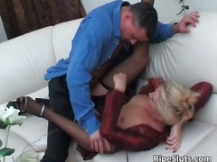 Sweet mature blonde ge... video