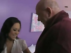 Cute Girl Down From The Street Fucks Mature Neighbour