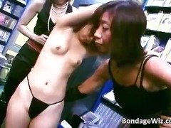 brunette, public, fetish, bdsm, asian, bondage, masturbation, interracial