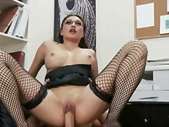 Yobt Movie:Miko Lee gets screwed up her d...