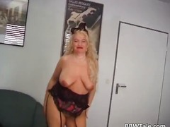 See: Mature chubby blonde p...