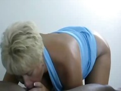 Thumb: Mom Tracey sucks BBC a...