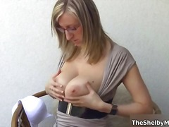 See: Busty blonde whore get...