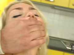 blonde, compilation, deepthroat