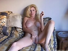 blonde, milf, mature,