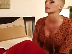 mother, busty, tit, milf, college, bald