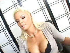 Mature busty blonde ch... video
