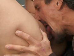 miko lee,  blowjob, deepthroat