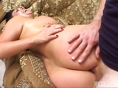 Busty girl enjoys ever... video