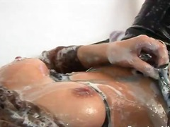 Thumb: Gina's gooey fetish show