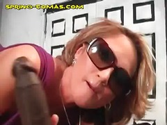 Cuckold sees blonde on...