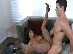 Yobt Movie:Lisa ann forces herself onto t...