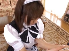 Asian maiden shows bod... video