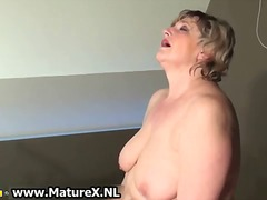 Horny busty mature mom...