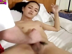 H2porn Movie:Shemale self facial cumshot co...