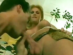 Tranny fucked hard then jerk off unti...