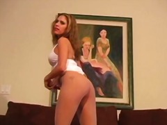 Famous jerk off instructors shows nice col...