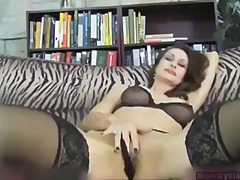 Newbie milf nora noir gives first por...