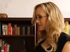 Brandi love fucks student and screams in joy and facial