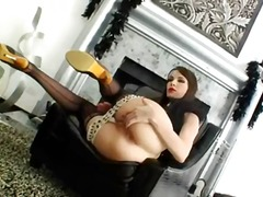 Shooting of incredible anal beauty