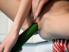 See: Unreal cucumber in her...