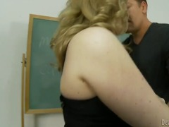 Hot mature teacher left worst student