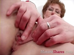 mature, fingering, masturbation