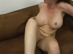 Mommy's creampie pussy video