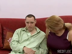 Horny facialized wife ...
