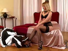 Dominant playful blonde slut aleska d...