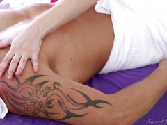 Very cute scene about male massage
