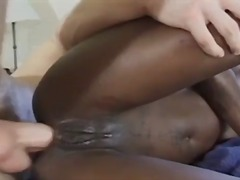 Gorgeous ebony with ti...