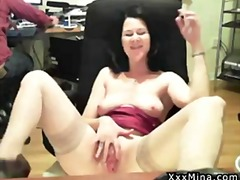milf, masturbation, homemade, mature