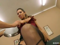 kayla carrera,  office, tits,