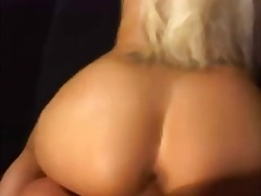Enormous sexy blond gets fucked