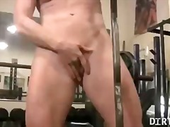 penetration, tits, gym, rubbing, kinky, legs, pussy, workout