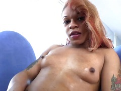 Hot Shame - Sexy shemale candi love is wearing