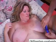 milf, wife, older, chubby, tits, fat,