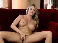 solo, pussy, babes, blonde, fingering