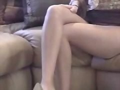 Thumb: Masturbating girl in p...