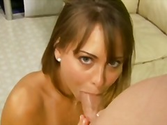 Riley reid has mouth full a creamy cu...
