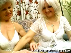 Granny and mature lesb... preview