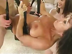 group, threesome, milf, blowjob,