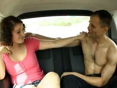 couple, babe, hardcore, hairy, boobs, car,