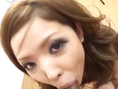 Big titty naami hasegawa takes on two horny guys and their cocks